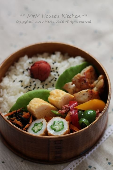 レインボーDay!  ☆今日のお弁当♪_c0139375_1217799.jpg