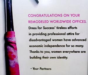 NY発のユニークなNPO、Dress for SuccessとDo Something_b0007805_10392987.jpg