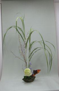 自作花器にいける_c0165824_1612073.jpg