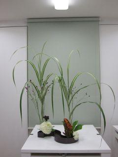 自作花器にいける_c0165824_16144571.jpg