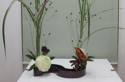 自作花器にいける_c0165824_16154451.jpg