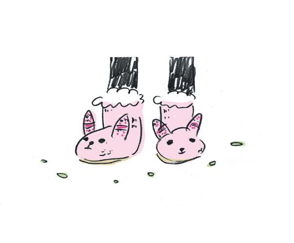 もこもこな靴_c0154575_1544589.jpg