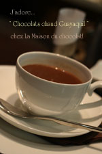 「LA MAISON DU CHOCOLAT」が銀座松屋に!_c0138180_15371099.jpg