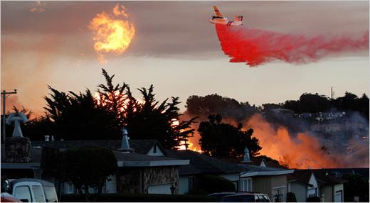 """アメリカ西海岸の""""謎の飛行機墜落事故"""":ついにケムトレイル機が墜落か???_e0171614_2039269.jpg"""
