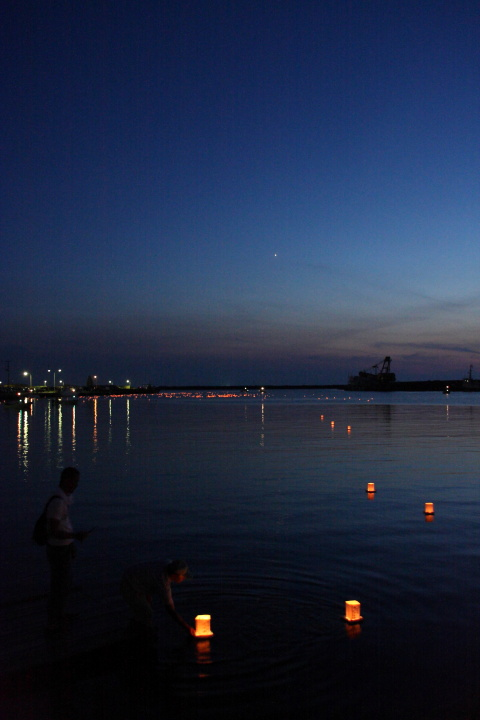 長岡灯りの祭典 in 寺泊2_e0169421_8282284.jpg