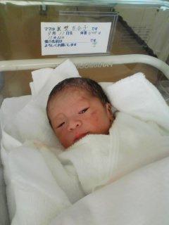 newbornbaby!! うれしい知らせがぞくぞくと。_e0131324_042440.jpg