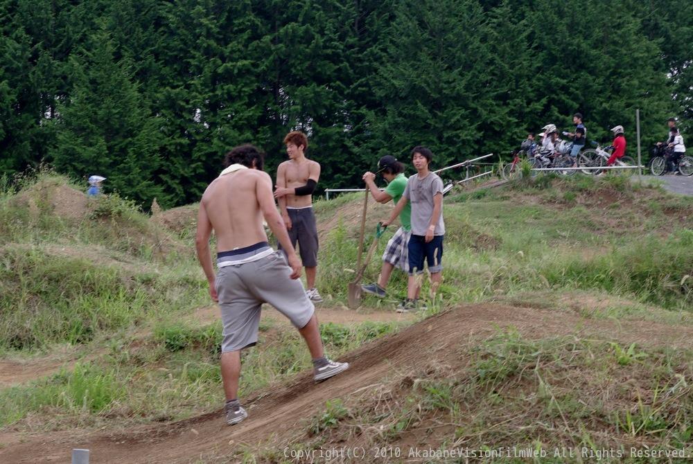 9月12日JOSF緑山BMXコース開放日の風景VOL1_b0065730_2322218.jpg