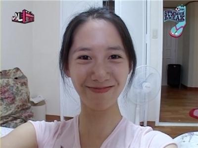 少女時代ユナ 顎が変わった? すっぴん写真_f0158064_13435873.jpg