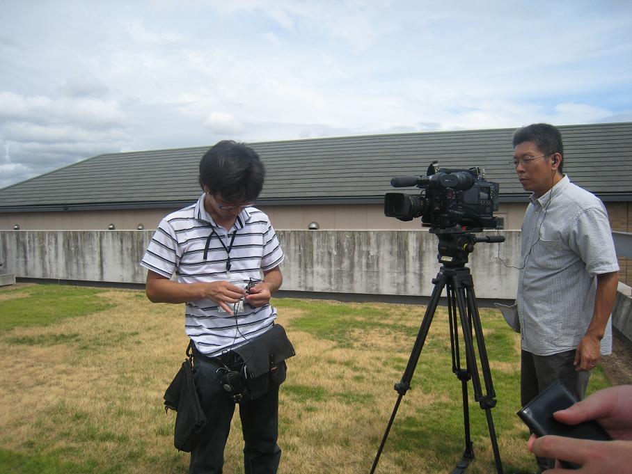 サンテレビの取材がありました。_f0205367_16384138.jpg