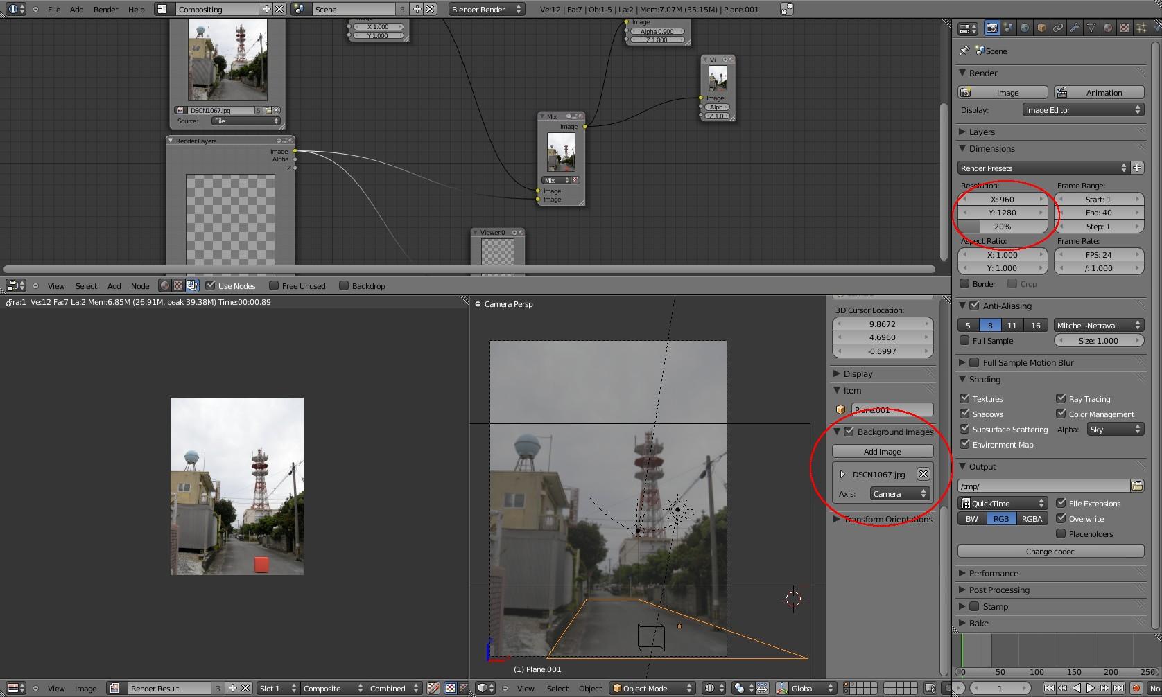 blender 3d tutorial『2Dのイラストの背景画や風景写真との3D合成方法』_a0011382_16451371.jpg