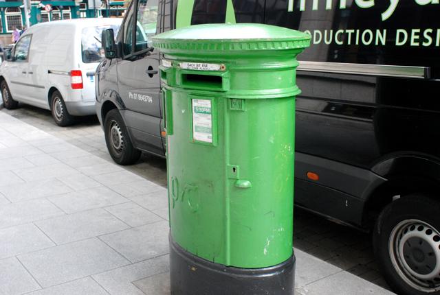 アイルランドのポストは緑色_e0175918_4572767.jpg