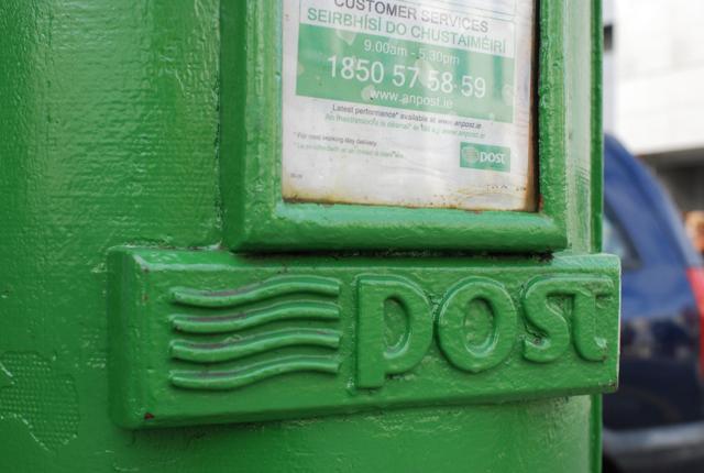 アイルランドのポストは緑色_e0175918_513685.jpg