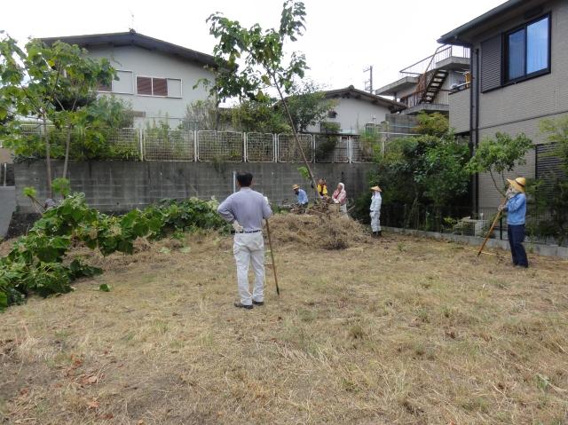 みさき公園団地草刈り:6日目_c0108460_14172944.jpg