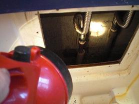 ユニットバスのシャワー付き混合水栓の取替え方法です。~取り付け方法1。_d0165368_673279.jpg