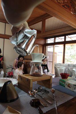 SumireYa すみれ家でのイベント・・・・珈琲講座・・・_b0137969_1555896.jpg