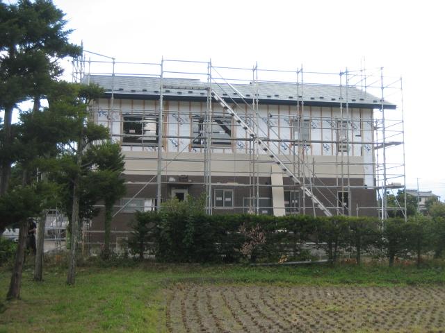 A邸新築工事進行状況_c0218716_1418136.jpg