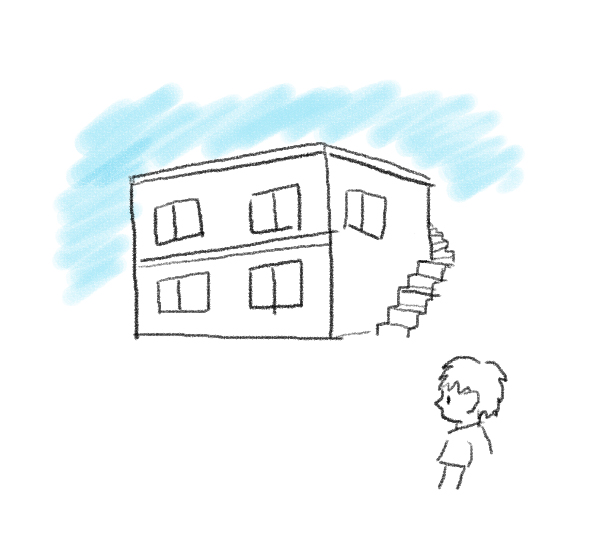 マンション外観イラスト