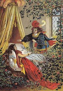 眠りの森の美女のパヴァーヌ 〜Pavane de la belle au bois dormant〜_c0203401_0502080.jpg