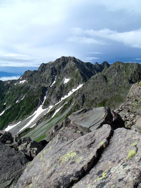 夏休み岩稜歩き-涸沢岳へ_c0177814_020784.jpg