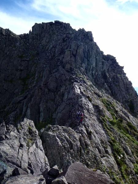 夏休み岩稜歩き-涸沢岳へ_c0177814_0221563.jpg