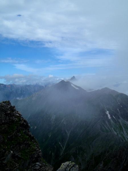 夏休み岩稜歩き-涸沢岳へ_c0177814_028476.jpg