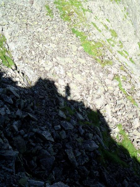 夏休み岩稜歩き-涸沢岳へ_c0177814_0332330.jpg
