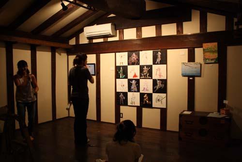 グループ作品展 満展4 『ゆるまん』 準備中です_d0178448_1174585.jpg