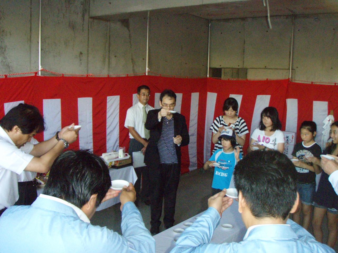 吉野の増田動物病院が上棟しました。_d0174072_11115497.jpg