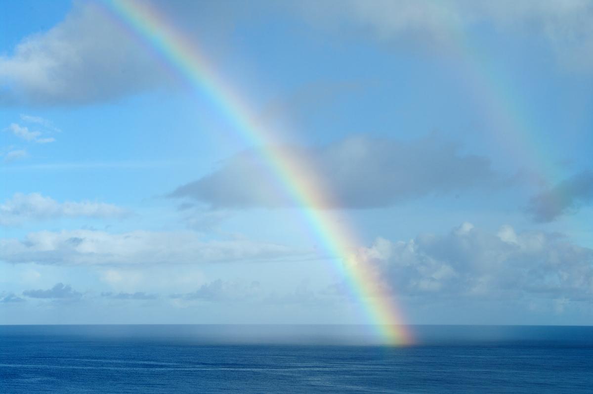 2010年夏のグアム旅行(最終回の前半)~ビーチに掛かる虹、Natur Trail~_c0223825_22491648.jpg