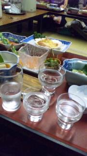 日本酒の会_e0163255_1595444.jpg