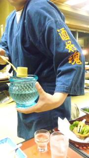 日本酒の会_e0163255_1595472.jpg