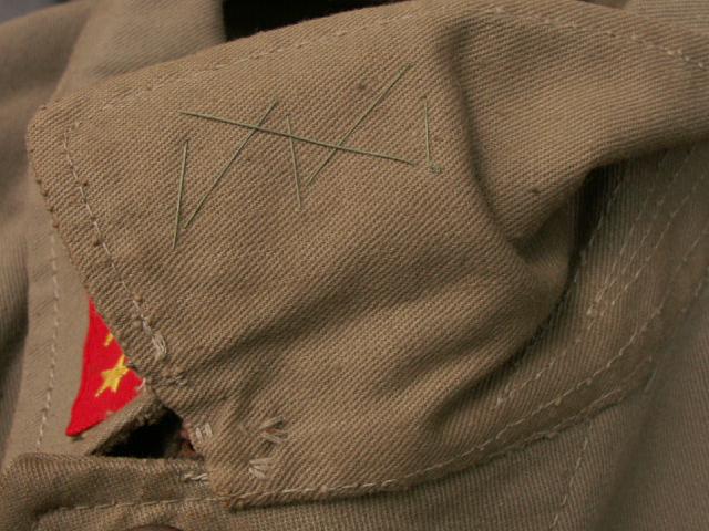陸軍上等兵九八式夏用上衣・襟章は当時縫付の完全品 (9/17 東京店・新着入荷分) _a0154482_12483878.jpg