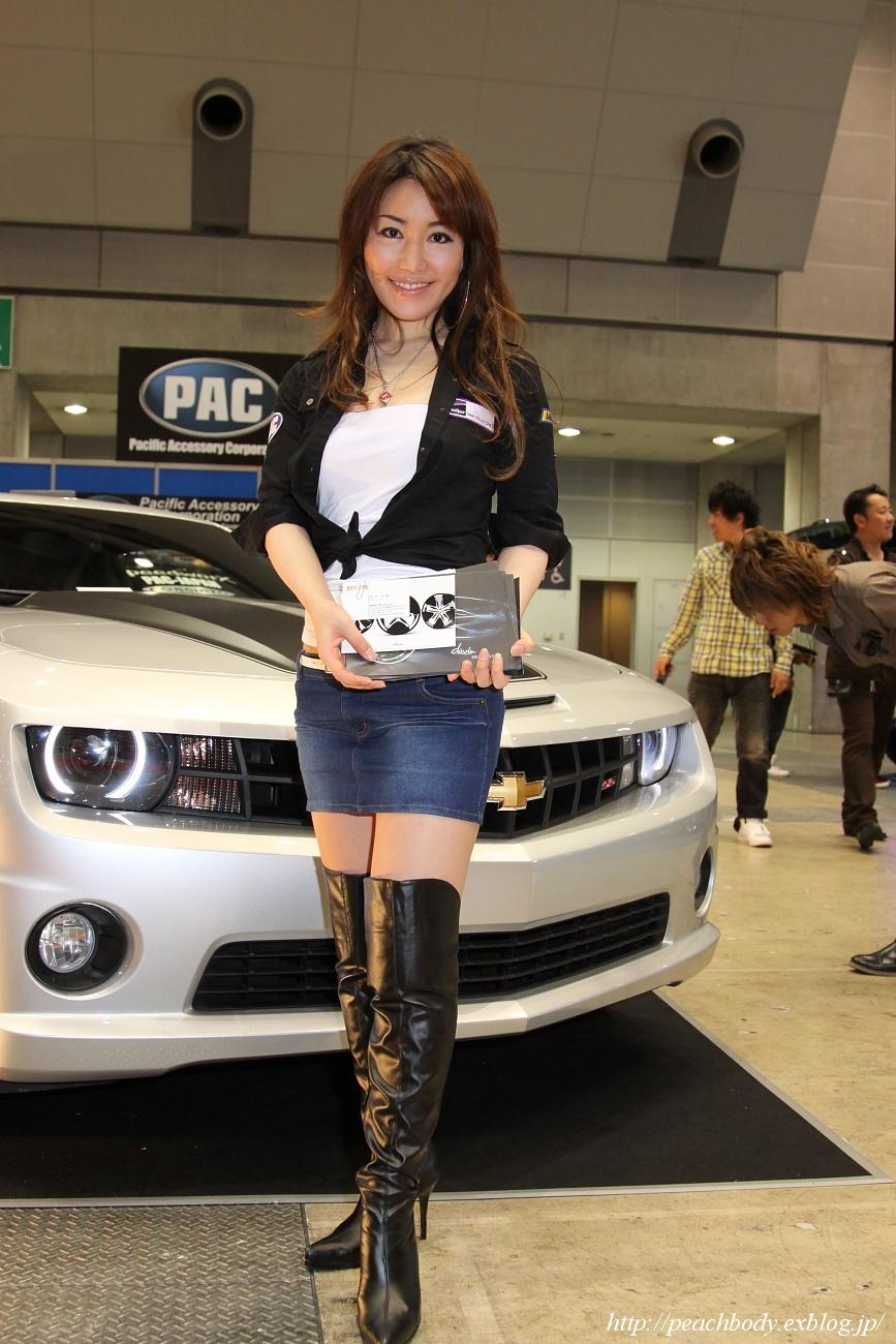 PAC JAPAN/Beijer JAPANブース 浅倉リナさん_c0215885_223115.jpg
