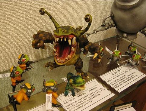 怪獣図鑑展・3  開催中 4_e0134502_14115056.jpg