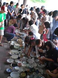 「もったいない陶器市」開催しました!2010年6月13日   生駒市エコパーク21にて_c0206588_22191860.jpg