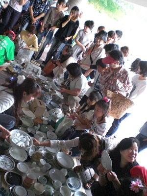 「もったいない陶器市」開催しました!2010年6月13日   生駒市エコパーク21にて_c0206588_2219418.jpg