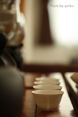 * 至福のひととき ~Chinese Tea Party ~ 9月 * _c0083904_1241110.jpg
