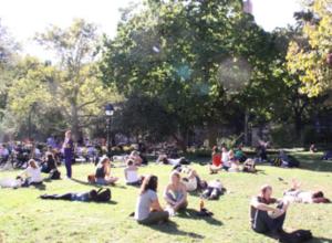 秋っぽくなってきたワシントン・スクエア・パーク風景_b0007805_201249.jpg