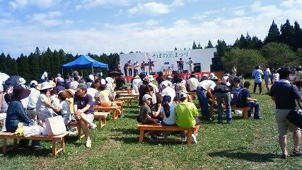椛の湖自然公園そばの花祭りにちこり村_d0063218_18264517.jpg