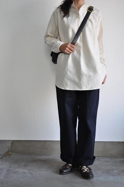 jujudhau/ズーズーダウ LONG 12BUTTON SHIRTS