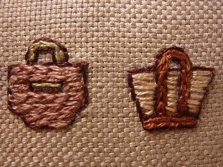 mini easel    バッグの刺しゅう x   3_a0165160_5332487.jpg