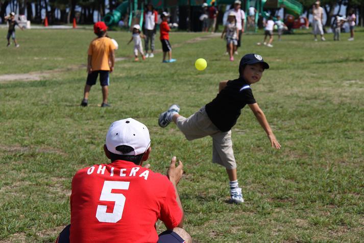 びわ湖こどもの国 野球教室_b0105369_14413082.jpg