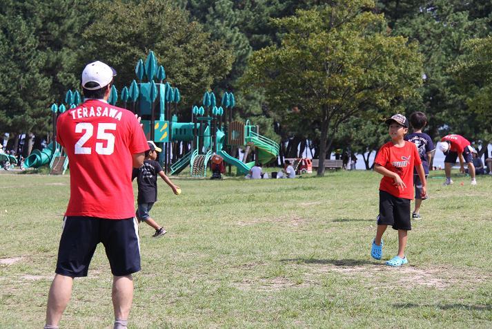 びわ湖こどもの国 野球教室_b0105369_14481887.jpg