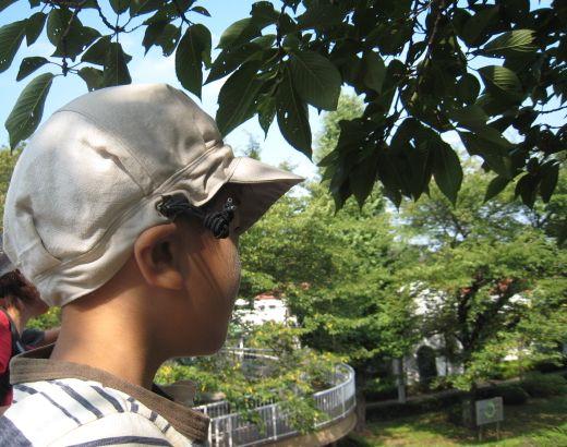 リメイク ★ ハギレのハギレの夏帽子_e0170272_20162930.jpg