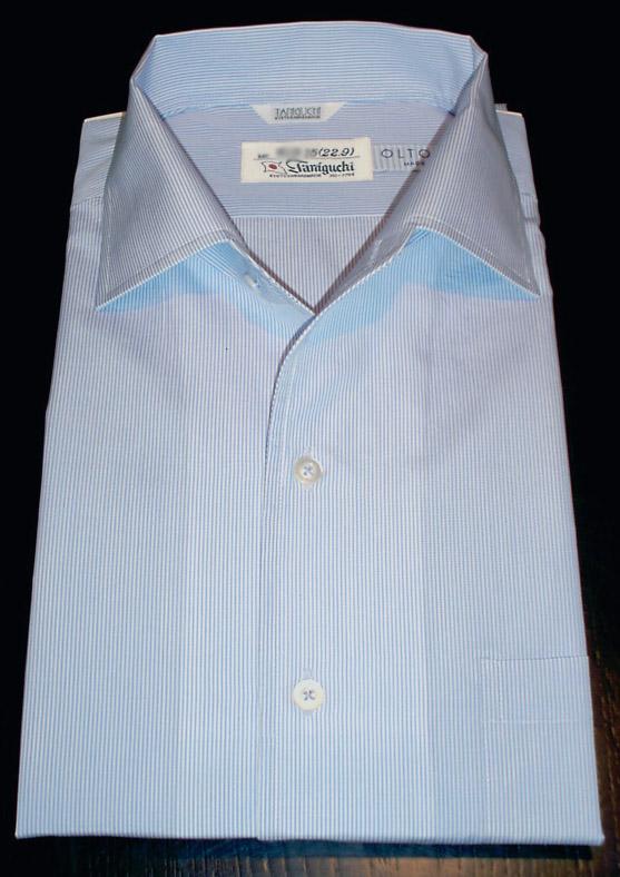 お客様のシャツ ツートンカラー_a0110103_1845205.jpg
