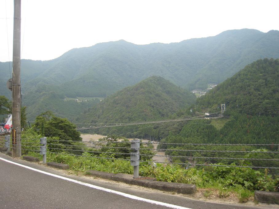十津川村、谷瀬の吊り橋。_f0205367_2120538.jpg