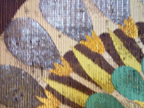 手織名古屋帯 エジプト大華文   <工芸帯地 洛風林の帯>_d0159384_17135990.jpg