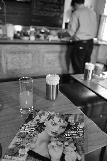 メルボルンで朝食を_f0050534_8405767.jpg