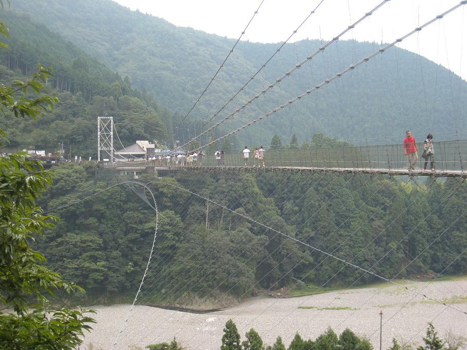 十津川村、谷瀬の吊り橋。_f0205367_1255152.jpg