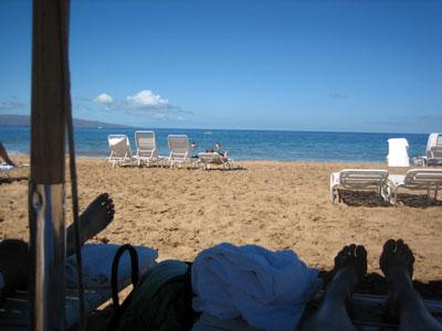 マウイレポ その5  Beach & Golf _e0134878_2048178.jpg